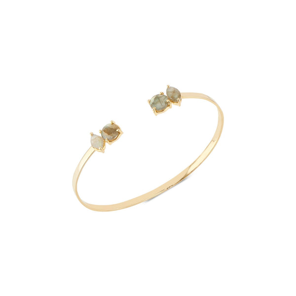 Sydney Bangle | Labradorite - elliparr