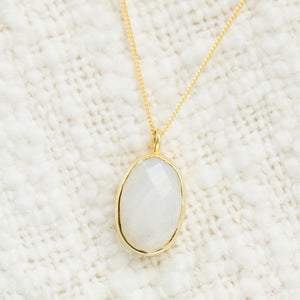 Tiffany Necklace | Moonstone - elliparr