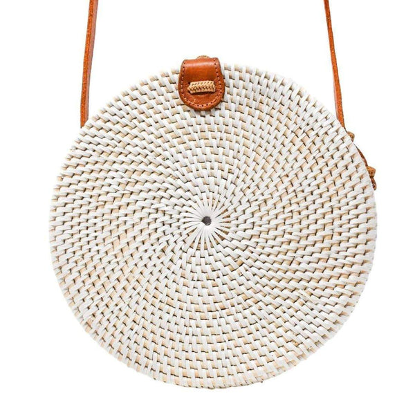 White Camilla Bag - elliparr