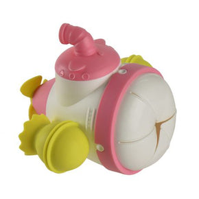 Mombella Submarine Building Block Snack Keeper - Pink