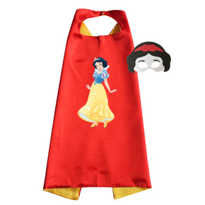 Snow White Cape and Mask