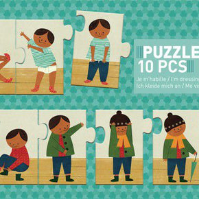 Djeco Sequence Puzzle: I am dressing up (3y+, 10pc)