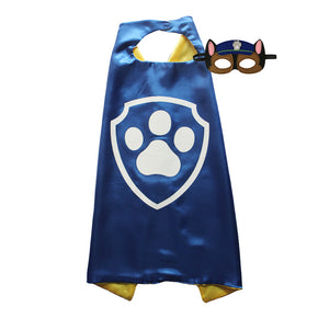 Paw Patrol Cape and Mask: Chase