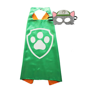 Paw Patrol Cape and Mask: Rocky