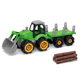 DIY Tractor, Trailor and Logs