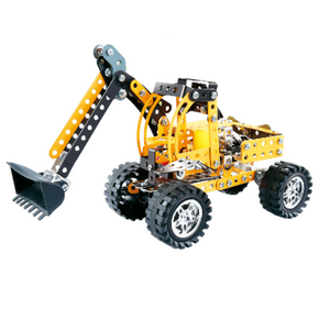 Metal Build & Play: Excavator