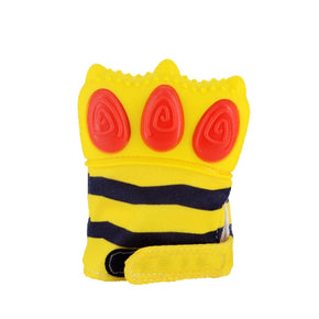 Gummy Glove Teething Mitten Tiger Claw