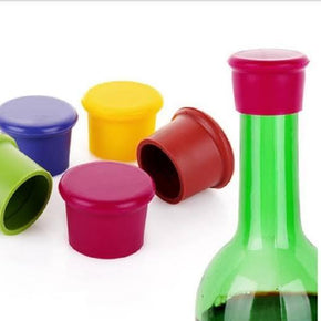 Silicone Resealable Wine Bottle Stopper