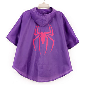 Spidergirl Raincoat and Mask