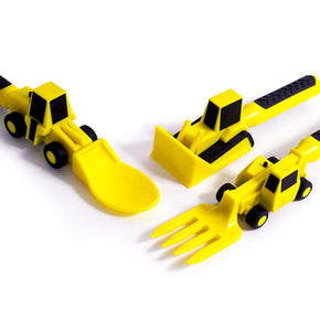 Boys Construction Utensil Set (3 Piece)