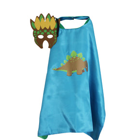 Dinosaur Cape and Mask: Stegosaurus