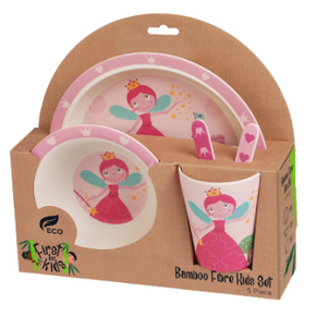 Fairy Bamboo 5 Piece Dinner Set