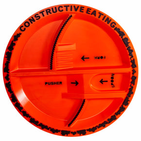 Boys Construction Plate (1 Piece)