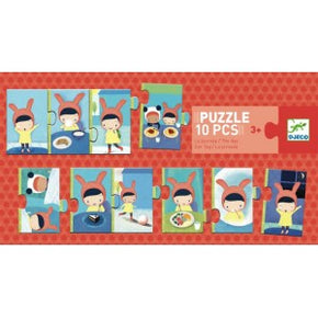 Djeco Sequence Puzzle: The Day (3y+, 10pc)