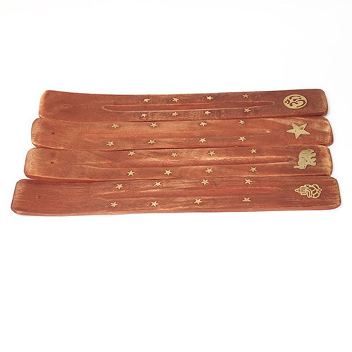 Brass Inlay Incense Tray