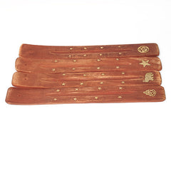 Brass Inlay Incense Tray - Hippie Hut Australia