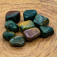 Bloodstone Tumbled Stones - Hippie Hut