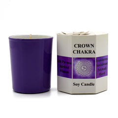 Crown Chakra Candle - Hippie Hut
