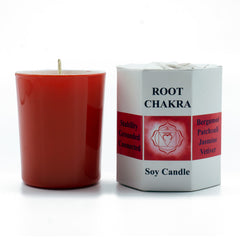 Root Chakra Candle - Hippie Hut