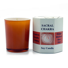 Sacral Chakra Candle - Hippie Hut