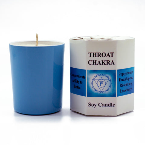 Throat Chakra Candle - Hippie Hut
