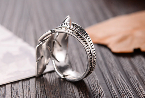 Hippie Leaf Ring