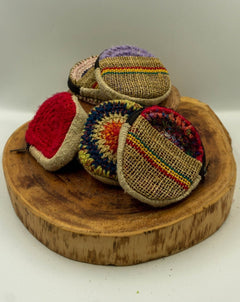 Hemp Round Purse - Hippie Hut