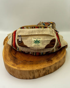 Hemp Waist Bag - Hippie Hut