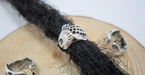 Fish Dread Beads
