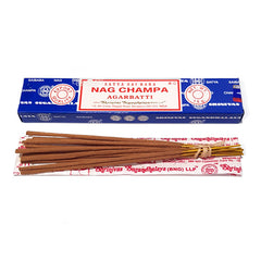 Satya Nag Champa Incense 15gm - Hippie Hut Australia