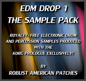EDM DROP 1 : The Sample Pack