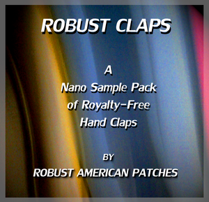 Robust Claps (Nano Sample Pack 1)
