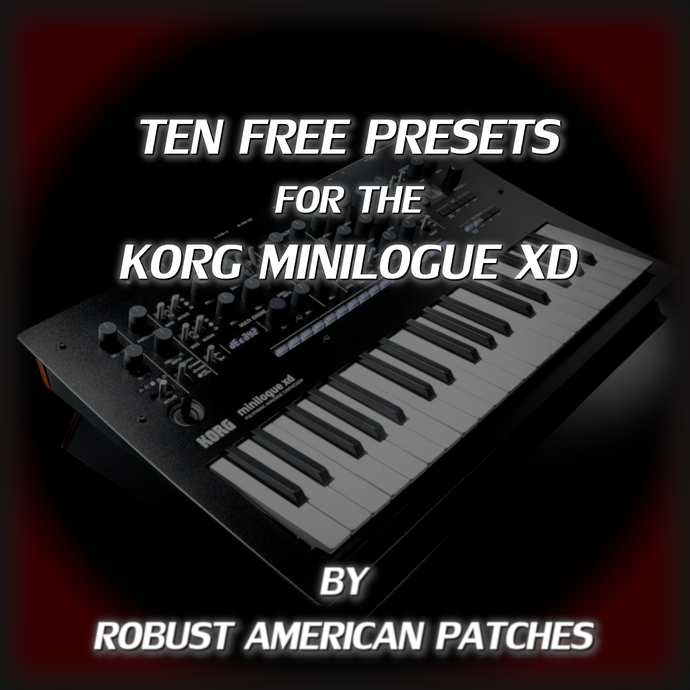 10 FREE FOR THE MINILOGUE XD