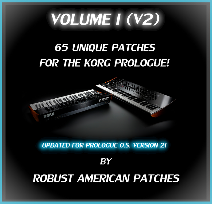 Korg Prologue Presets Volume I (V2) Image