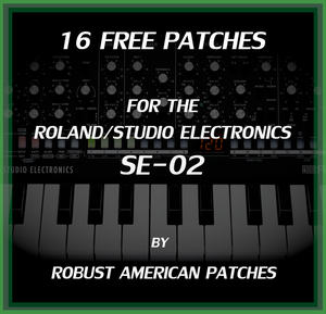 16 Free Patches for the SE-20