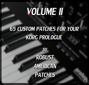65 Patches for the Korg Prologue Synthesizer (Volume II)