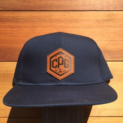 Hat - Navy Blue Discrete