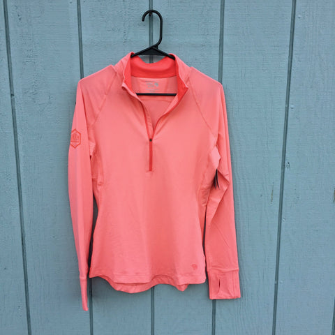 Base Layer Mountain Hardwear Women's long sleeve 1/2 zip-Paradise Pink