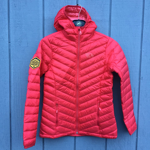 Jacket Mountain Hardwear Women's Micro Ratio Down-Scarlet