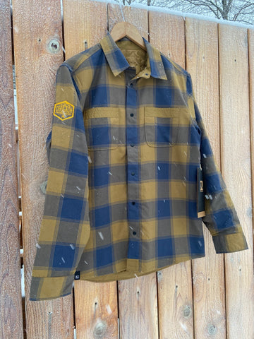 Sinclair Flannel Rye/Midnight
