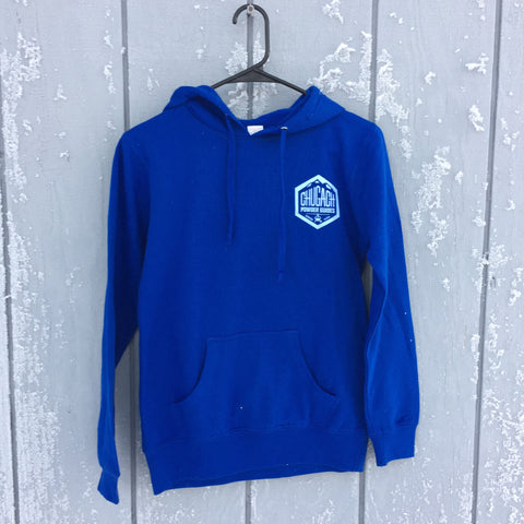 2017 Hoodie - Women's Blue Artwork