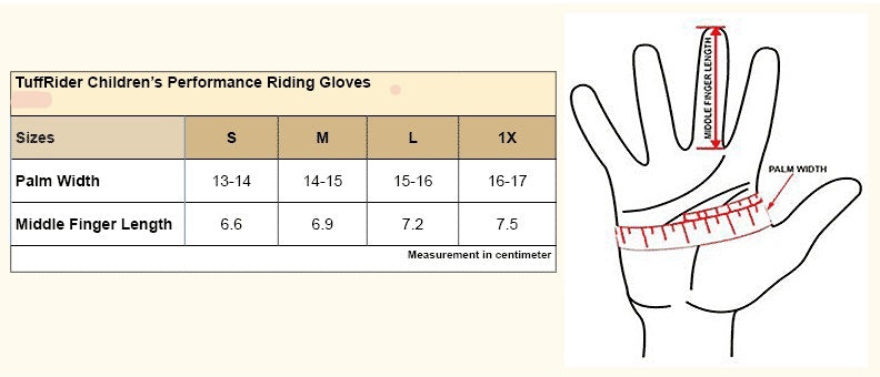 Gloves, Children's Performance Riding