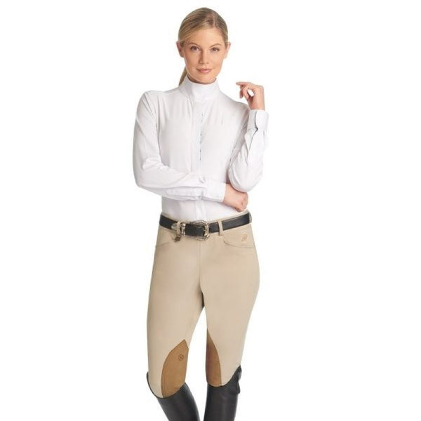 Breeches, Ladies Euroweave Side-Zip by Ovation