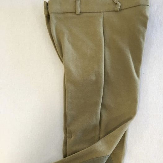 Breeches, Ladies Cotton, Knee Patch