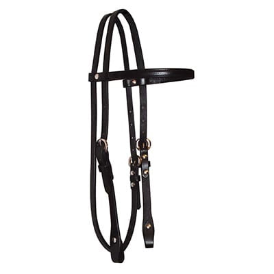 Headstall with Browband, 5/8""