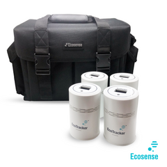 EcoTracker-devices and bag
