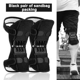 Knee Protector, Joint Support Pads, Breathable Non-Slip Power Lift, Rebound Spring Force Booster Leg Protector