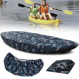 Universal Kayak Cover  Waterproof Kayak Boat Canoe Storage Transport Dust Cover Inflatable Boat Cover Shield Kayak Accessories
