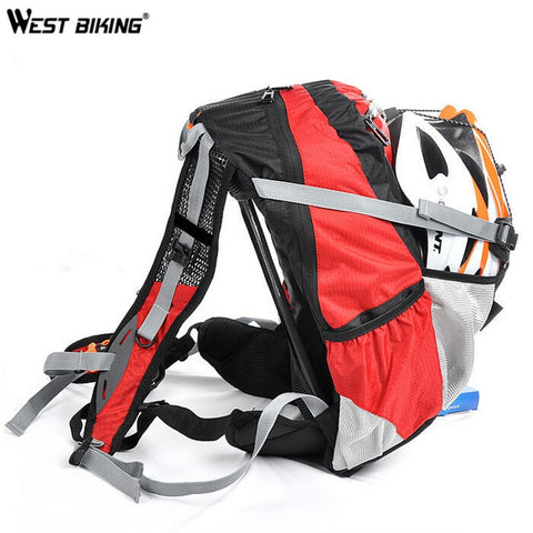 WEST BIKING Mountain Biking Backpack Riding Bicycle Riding Equipment Package To Send Rain Cover 20L Cycling Bag
