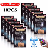 10Pcs Cell Phone Signal Boosters -The Latest SP-1 Antenna GENERATION X PLUS Improve Signal Antenna Booster Outdoor Camping Tools